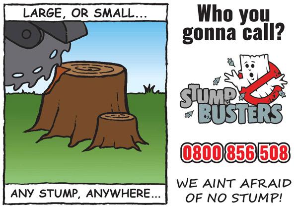 Stump Grinding Call